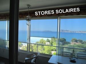 Des stores solaires en rouleaux livrés et/ou posés dans tout le Sud-Est de la France: de Nice (06) à Marseille, en passant par Aubagne ou Toulon (83)