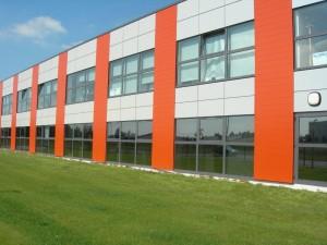 Pose de films pour vitres teintées de bâtiments administratifs (conseil général)